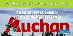 Immobilier d'entreprise/Solidarité : La foncière d'Auchan montre l'exemple et renonce aux loyers de ses locataires
