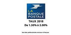 Assurance-Vie La Banque Postale, taux des fonds euros 2018 : en légère progression, un signe d'espoir ?