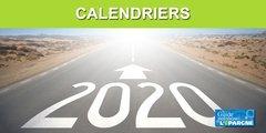 Calendrier 2020 des versements des pensions de l'Agirc-Arrco