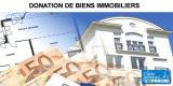 Donation d'un bien immobilier