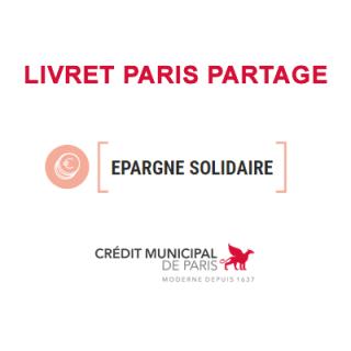 CRÉDIT MUNICIPAL DE PARIS (Livret Paris Partage)