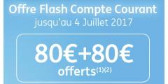 Qui dit mieux ? Jusqu'à 160€ offerts pour l'ouverture d'un compte courant ING Direct