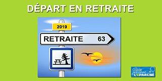 L'âge moyen de départ en retraite est de 62,8 ans en 2019, en constante augmentation
