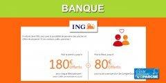 Banque : Parrainage ING, 150€ offerts au parrain par filleul, c'est le moment d'appeler vos amis