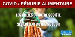 COVID/ Pénurie alimentaire de produits agricoles en Ile de France, une faille de plus de notre société