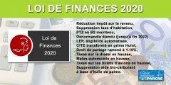 Loi de finances 2020 : encore de bonnes nouvelles, LEP, PTZ, CITE, Denormandie, droit de partage...