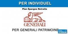 Épargne retraite : Generali dévoile son PER individuel, PER Generali Patrimoine