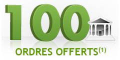 100 ordres de bourse offerts chez Fortuneo, à saisir avant la fin d'année !