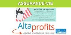 Assurance-Vie Digital Vie d'AltaProfits : offre promotionnelle, jusqu'à 350€ offerts à saisir avant le 12 mai 2020