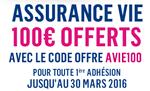 100€ offerts à la souscription de Boursorama Vie (+3.15% en 2015)