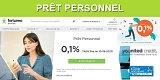 Prêt personnel : Fortuneo propose un prêt de 10.000 euros sur 6 mois, pour un coût de moins de 3 euros