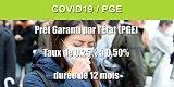 PGE (Prêt Garanti par l'État) : crédit octroyé de 200.000€ en moyenne, 500.000 entreprises bénéficiaires