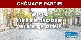Chômage partiel : nouveau record, 11,3 millions de Français concernés au 28 avril