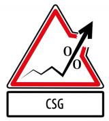 Hausse de 1.7 point de la CSG au 1er janvier 2018