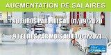 Augmentation de salaires des soignants : les 300 euros escomptés réduits à 2 fois 90 euros