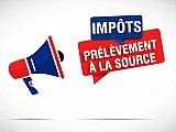 Prélèvement à la source : 1er janvier 2019, top départ !