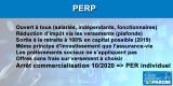 PERP Epargne Retraite