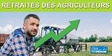 Retraites des agriculteurs : la pension minimum devrait passer de 914 euros à plus de 1036 euros en 2022 (85% du SMIC, contre 75% aujourd'hui)