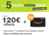 Monabanq / DERNIER JOUR / offre exceptionnelle 170€ offerts : demain il sera trop tard !