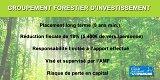 Groupement Forestier d'Investissement (GFI)