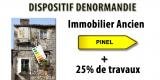 Dispositif Denormandie : le pinel dans l'ancien