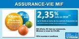 Assurance-Vie MIF : 60€ offerts pour 510.20€ versés, frais sur versements à 0%, sous conditions, jusqu'au 30 novembre 2019