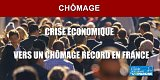 Chômage en France : +22.60% sur le mois d'avril, une crise économique sans précédent