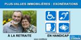 Retraités et personnes handicapées : cas d'exonération de vos plus-values immobilières