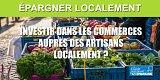 Orienter l'épargne des Français vers l'économie réelle locale (commerces, artisans, etc.), pas si simple