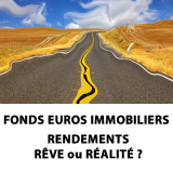 Fonds euros immobiliers