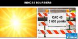 Canicule sur les marchés financiers : le #CAC40 à son plus haut annuel en séance, le #DAX en surchauffe...