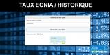 EONIA : recherche historique du Taux pour une date donnée