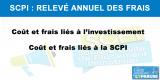 Relevé annuel des frais de SCPI : une douche froide pour les épargnants les moins avertis ?