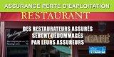 Assurance perte d'exploitation pour les restaurateurs : de plus en plus d'assureurs versent des dédommagements