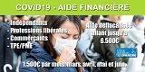 Fonds de solidarité COVID : le formulaire de demande d'aide financière de 1500 euros pour juin est en ligne
