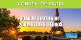 Paris débloque 200 millions d'euros pour soutenir les entreprises, la culture et les familles