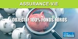 Assurance-vie permettant de placer à 100% sur le fonds euros