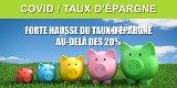 Les Français épargnent largement plus avec la crise, le taux d'épargne devrait dépasser les 20%