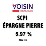 SCPI Épargne Pierre : rendement 2018 de 5.97% (TDVM), encore une performance de haut de tableau !