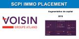 SCPI IMMO PLACEMENT : un plébiscite pour son augmentation de capital, 40% souscrits en seulement 80 jours