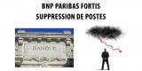 Banque : BNP Paribas Fortis va supprimer jusqu'à 2.500 postes sur 3 ans