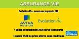 Contrat assurance-vie Évolution Vie, nouveaux supports ISR et en faveur de la transition énergétique