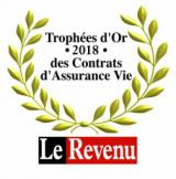 Trophées 2018 de l'assurance-vie du magazine Le Revenu : 25 contrats récompensés