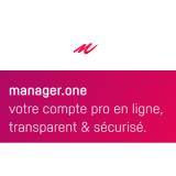 Manager.one (néobanque pour les pros) innove en proposant l'envoi des fiches de paie en ligne et les virements multiples