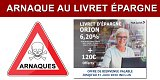 ARNAQUE ! Livret ORION à 6.20% et 120 euros offerts !