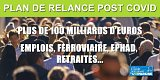 Le Plan de relance COVID qui valait 100 milliards : retraites, emploi, Ephad, ferroviaire...