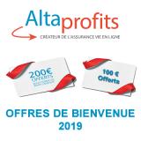 Assurance-Vie, offres de bienvenue chez AltaProfits : de 100 à 200€ offerts, sous conditions