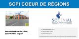 SCPI CŒUR DE REGIONS : seconde revalorisation de la part, moins d'une année après son lancement !