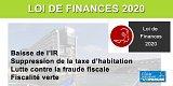 Loi de finances 2020 : IR, taxe d'habitation, LEP, PTZ, Denormandie, droit de partage... Tout ce qui change