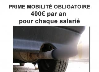 Trajet domicile/travail : les employeurs contraints de verser dès 2020 la prime mobilité de 400€ maximum ?